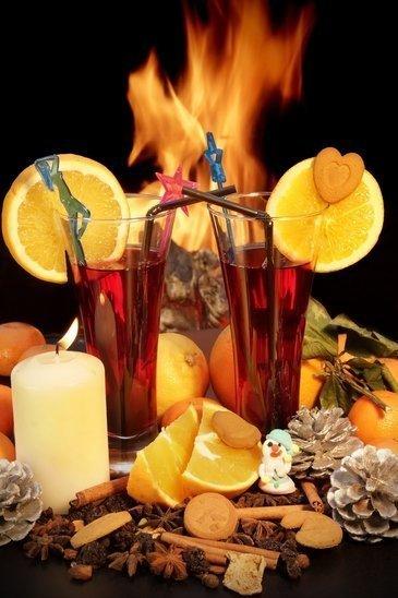 Feuerzangenbowle, ein Punsch aus Rum