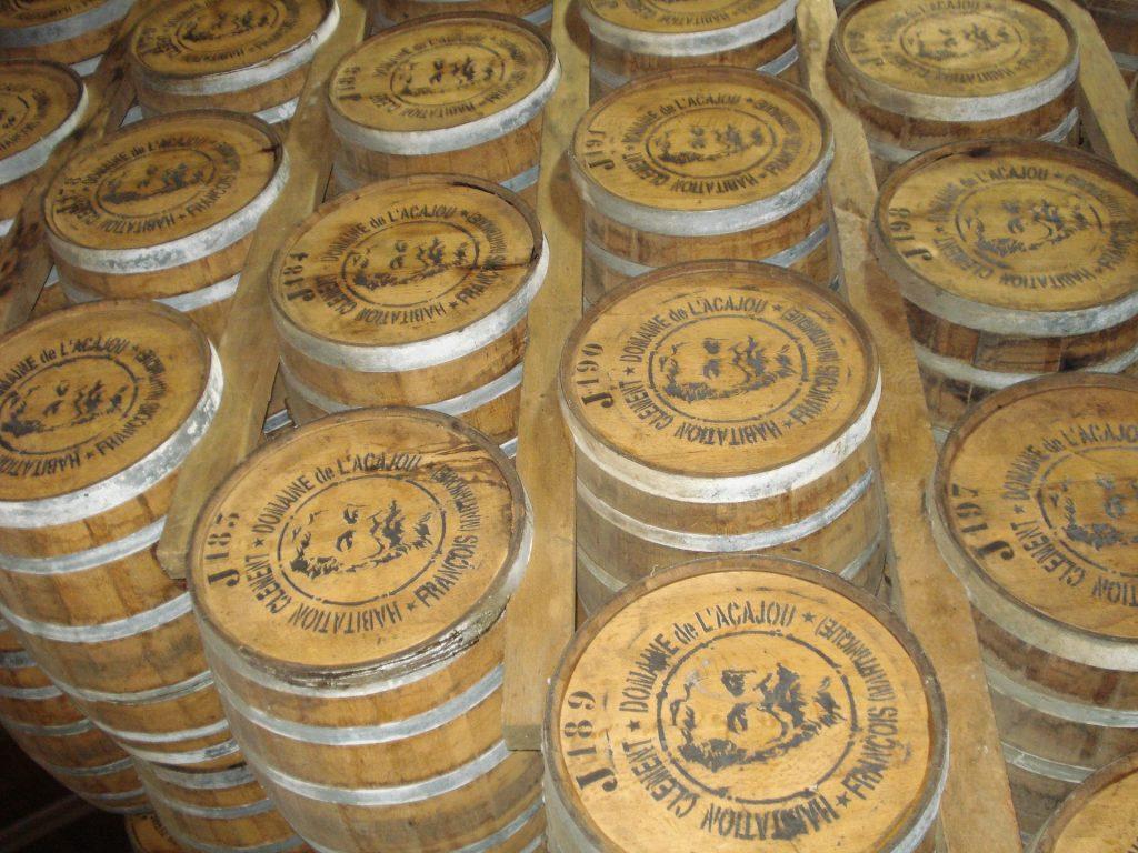 Rum Fässer Martinique